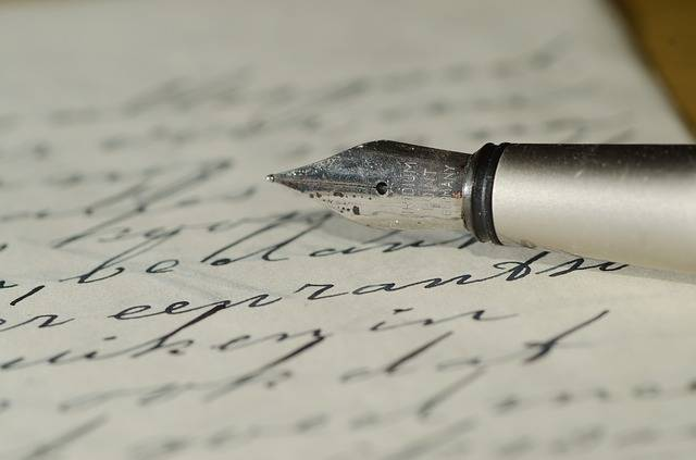 Fountain Pen Letter Handwriting - Free photo on Pixabay (614835)