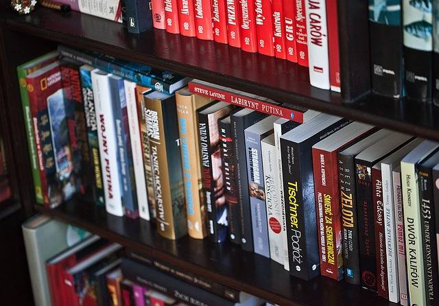 Book Library A Collection Of - Free photo on Pixabay (619400)