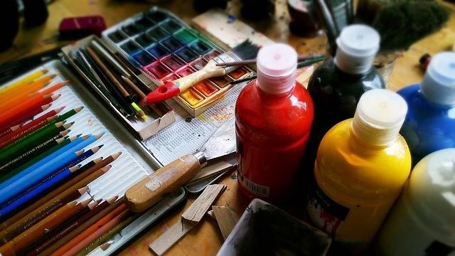 Painting Pencils Pens - Free photo on Pixabay (619431)