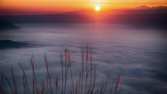 Japan Aso Cloud Sea Of - Free photo on Pixabay (620626)