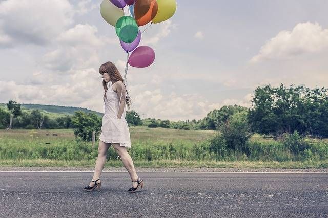 Balloons Party Girl - Free photo on Pixabay (620708)