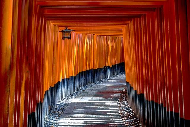 Torii Gate Architecture - Free photo on Pixabay (621619)