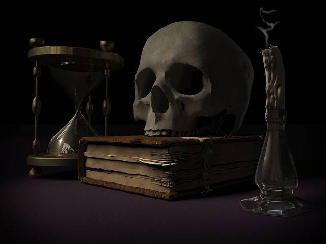 Mortality Skull And Crossbones - Free image on Pixabay (623707)