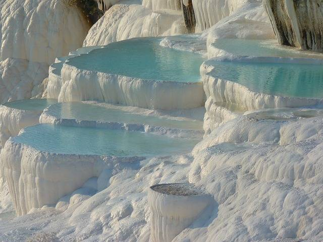 Pamukkale Lime Sinter Terrace - Free photo on Pixabay (624813)