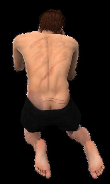 Man Sore Back Thrashing - Free image on Pixabay (626791)