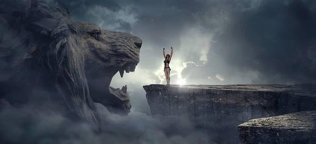 Fantasy Rock Lion Head - Free photo on Pixabay (627465)