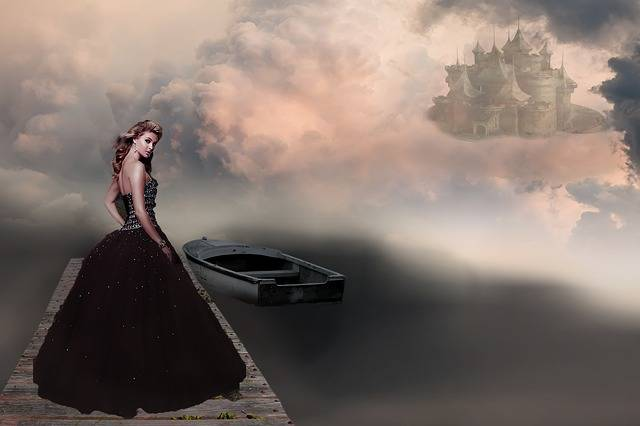 Fantasy Picture Woman Castle - Free photo on Pixabay (627470)