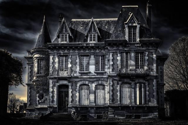 Villa House Gloomy - Free photo on Pixabay (629245)