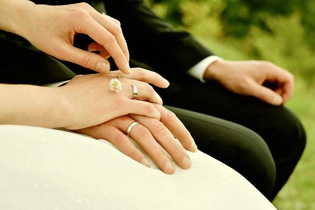 Hands Bride And Groom Rings - Free photo on Pixabay (629663)