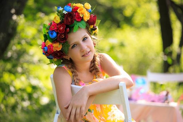 Wreath Kids Summer Photographing - Free photo on Pixabay (631987)