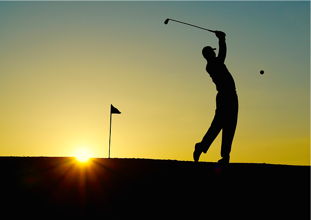 Golf Sunset Sport - Free photo on Pixabay (632855)