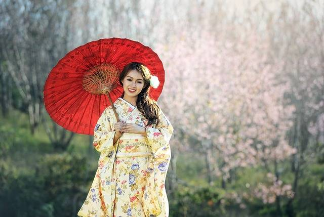 Beauty Geisha Asia - Free photo on Pixabay (636542)