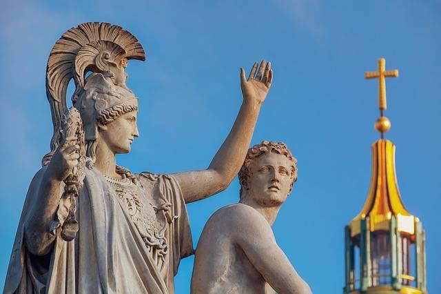 Monument Sculpture Greek Gods - Free photo on Pixabay (638888)
