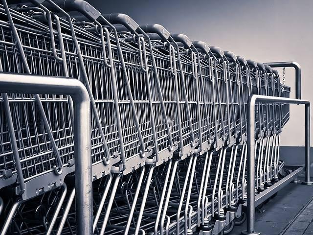 Shopping Cart Supermarket - Free photo on Pixabay (642330)