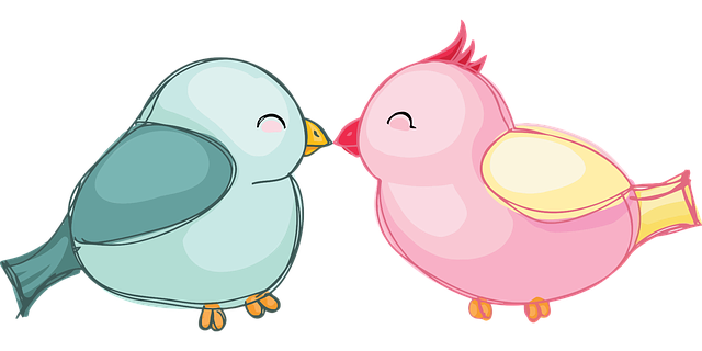 Lovebirds Birds Love - Free vector graphic on Pixabay (648515)