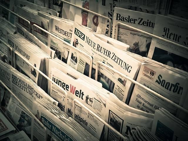 News Daily Newspaper Press - Free photo on Pixabay (649794)