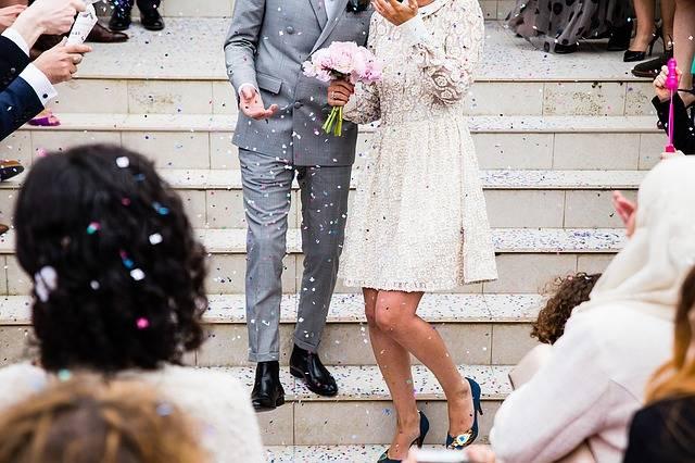 Wedding Couple Marriage - Free photo on Pixabay (652010)
