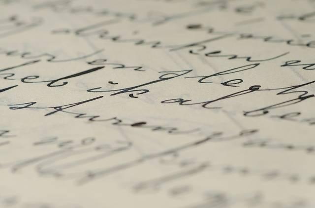 Letter Handwriting Written - Free photo on Pixabay (653011)