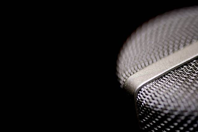 Microphone Vocal Voice - Free photo on Pixabay (653060)