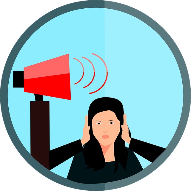 Noise Pollution Anxiety - Free vector graphic on Pixabay (653689)