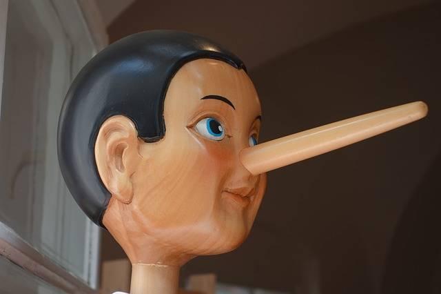 Pinocchio Nose Lying - Free photo on Pixabay (656368)