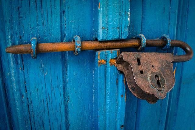 Door Blue Rusty - Free photo on Pixabay (658462)