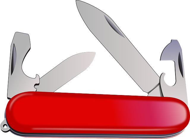 Knife Portable Swiss - Free vector graphic on Pixabay (658473)