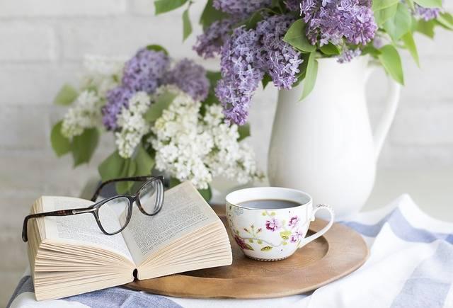 Coffee Book Flowers - Free photo on Pixabay (658813)