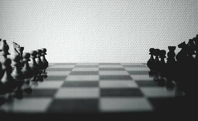 Chess Board Chessboard Black And - Free photo on Pixabay (660326)