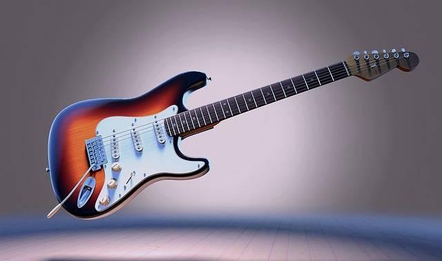 Guitar Electric Stringed - Free photo on Pixabay (660381)