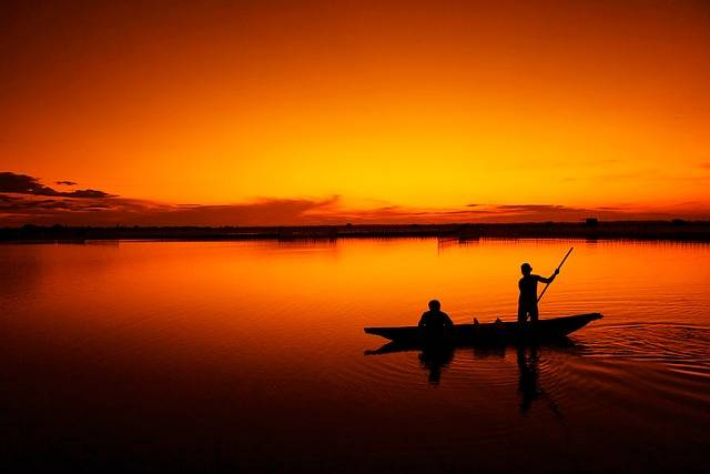 Fishing Boat Fisherman Tam Giang - Free photo on Pixabay (660947)