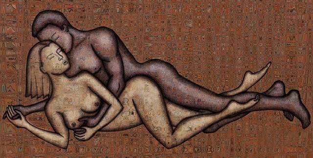 Illustration Drawing Naked - Free image on Pixabay (662441)