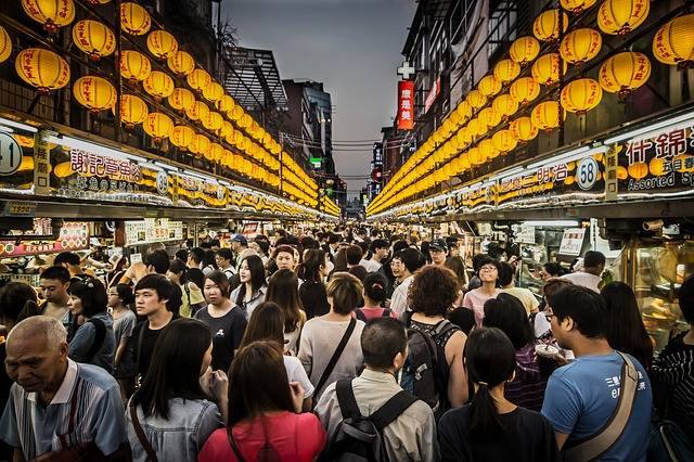 Night Market Crowd Seafood - Free photo on Pixabay (665452)