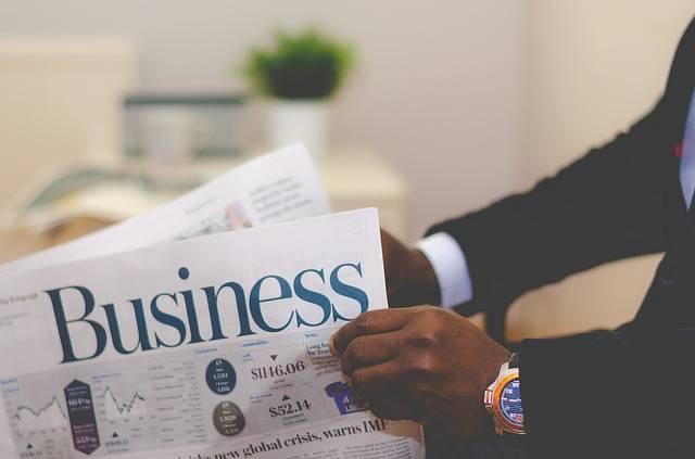 Business Man Newspaper - Free photo on Pixabay (666638)