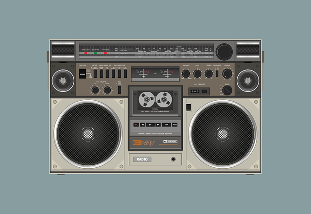 Radio Cassette Speaker Sound - Free vector graphic on Pixabay (668399)