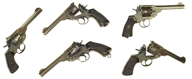 Webley Scott Mark Vi Revolver Gun - Free photo on Pixabay (670062)