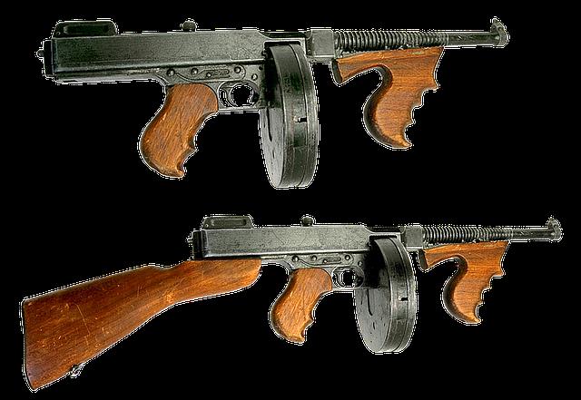 Gun Firearms Automatic Machine - Free photo on Pixabay (670066)