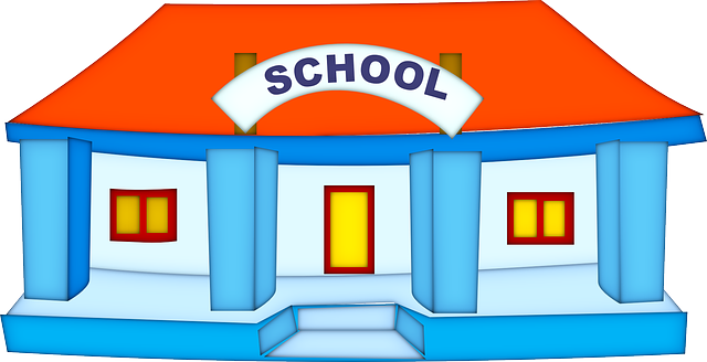 School Building Education - Free vector graphic on Pixabay (671609)