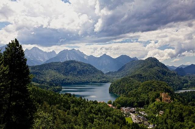 Hohenschwangau Alps Alpsee - Free photo on Pixabay (671698)