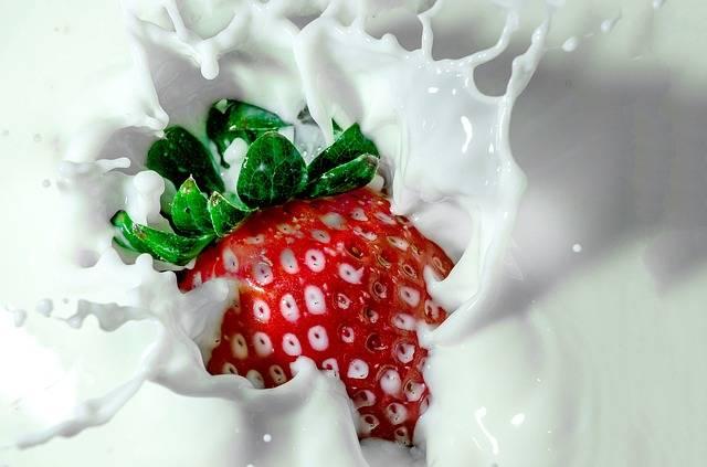 Strawberry Milk - Free photo on Pixabay (677083)