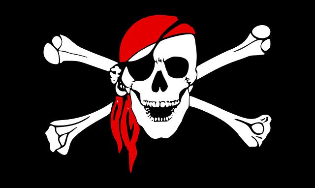 Pirate Crossbones Skull - Free vector graphic on Pixabay (677877)
