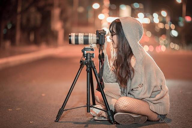 Night Camera Photographer - Free photo on Pixabay (681848)