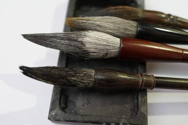 Chinese Calligraphy Brushes - Free photo on Pixabay (682047)