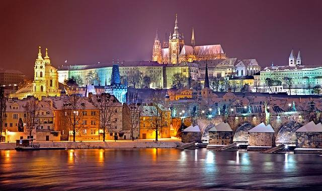 Prague Praha Winter - Free photo on Pixabay (683684)