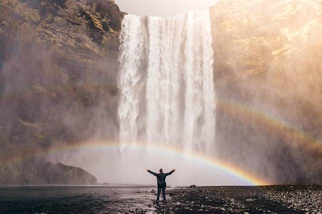 Waterfall Rainbow Spray - Free photo on Pixabay (684206)