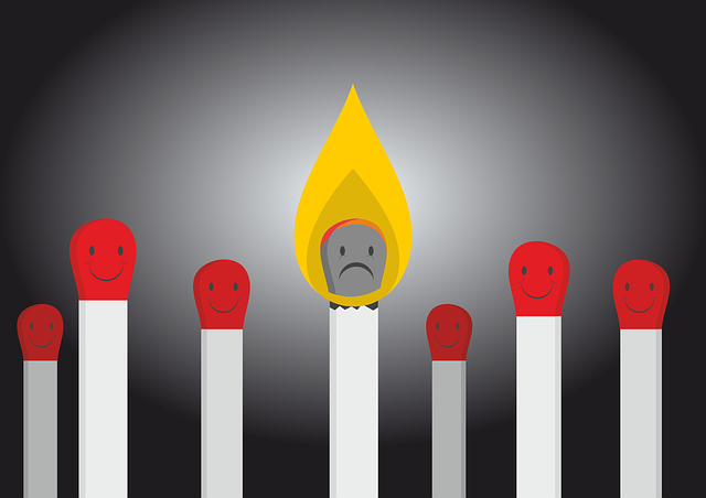 Burnout Bullying Matches - Free vector graphic on Pixabay (693054)