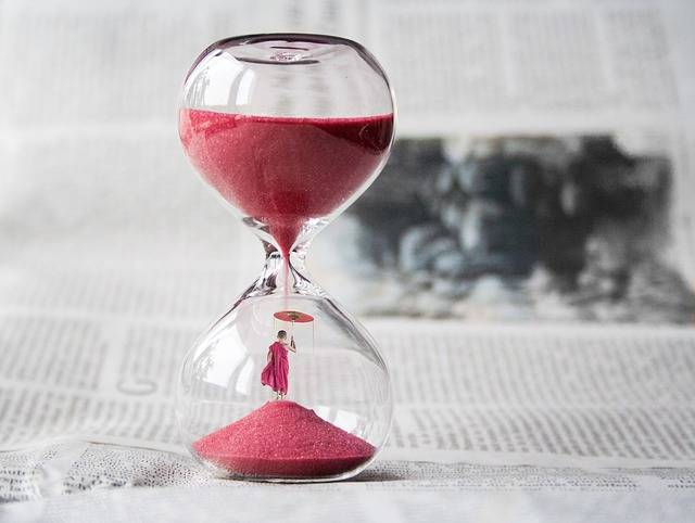 Hourglass Clock Sand - Free photo on Pixabay (695610)