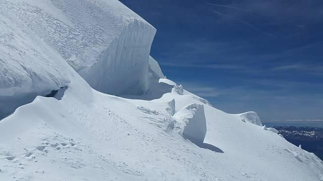 Glacier Crevasses Seracs - Free photo on Pixabay (697017)