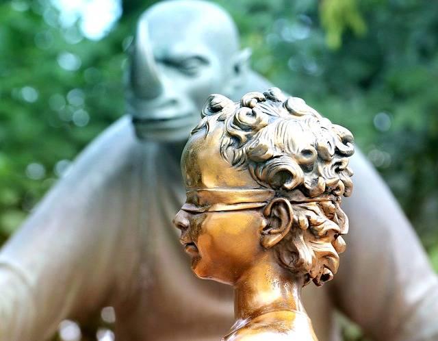 Sculpture Boy Gold - Free photo on Pixabay (698358)