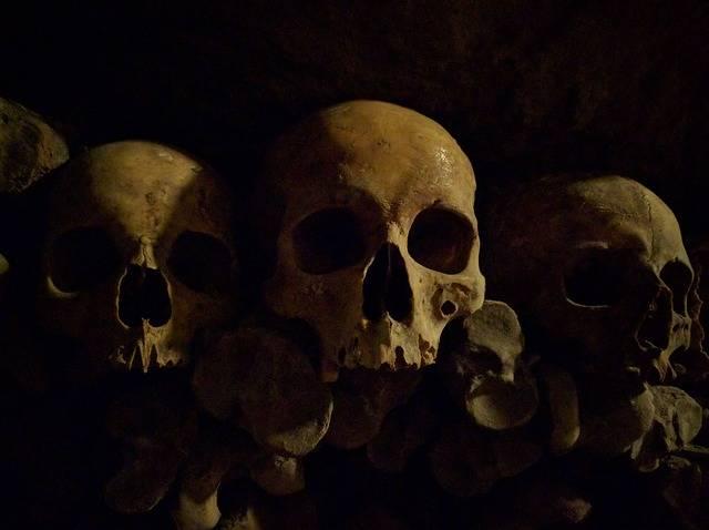 Skull The Catacombs - Free photo on Pixabay (698689)